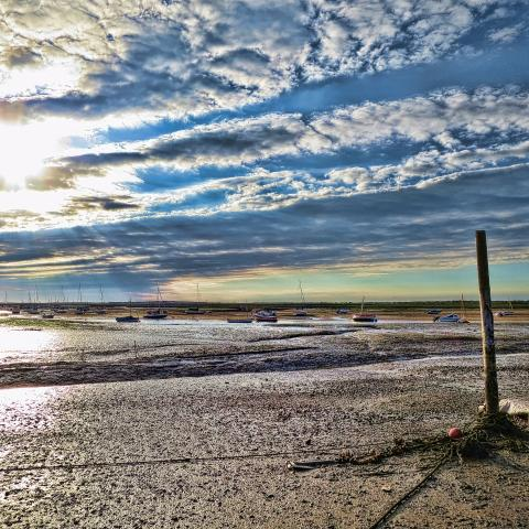 Brancaster at low tide